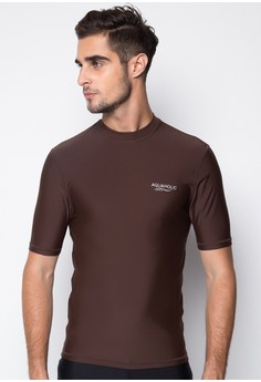 Andrino Slim Fit Men's Short Sleeve Rashguard