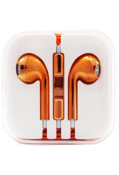 Metallic Model Stereo Earphones/Headset for iPhone