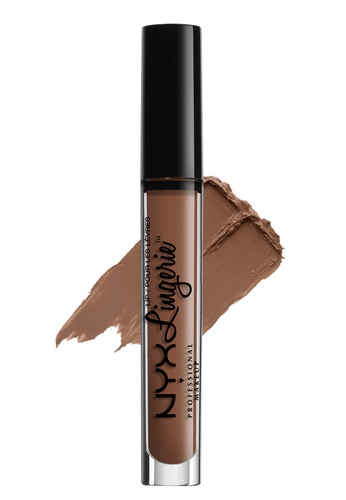 NYX Professional MakeUp brown and beige Lip Lingerie - Teddy NY342BE80KDNPH_1