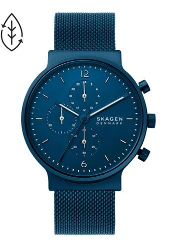 SKAGEN blue Ancher Watch SKW6763 6697CAC783A862GS_1