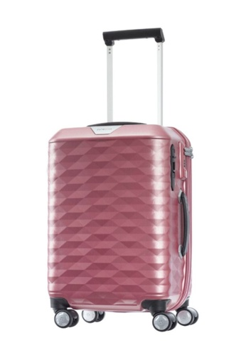 Samsonite pink Samsonite Polygon Spinner 55/20 Luggage 40C06ACFDFF4C2GS_1