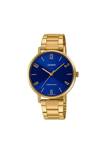 Casio gold CASIO GENERAL LTP-VT01G-2BUDF GOLD STAINLESS STEEL WOMEN'S WATCH 34C28AC20900EAGS_1