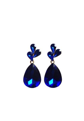 Loveaisyah blue Blue teardrop earrings FCC27AC4915A80GS_1
