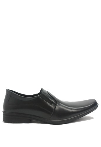 Dr. Kevin black Dr. Kevin Men Dress & Bussiness Formal Shoes 13203 - Black DR982SH0U92OID_1