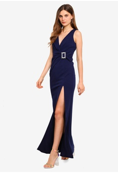 c0d46091 Buckle Front Maxi Dress HK$ 739.00. Sizes 8 10 12 14 16