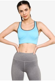 2b1346e2569fe Sports Bra With Stretchable Fabric And Removeable Cups B503BUSC6CA6F9GS 1