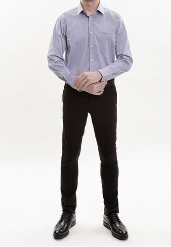 Goldlion grey Goldlion European Fabric Long-Sleeved Shirt AE25AAA742BE1BGS_1