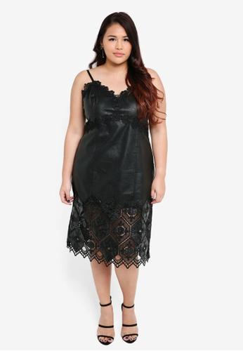 99f0ed72604a Shop ELVI Plus Size The Aster Honeycomb Cami Dress Online on ZALORA ...