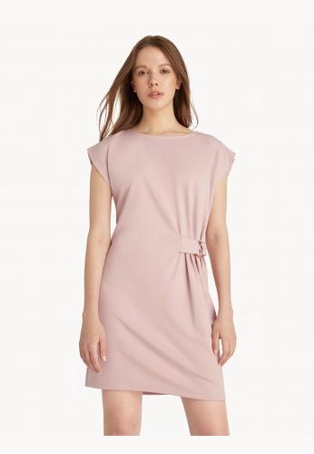 Pomelo pink Mini Side Ring Buckle Dress - Pink E0687AA58B35A8GS_1