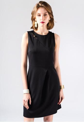 miss Viola black EXECUTIVE STYLE SKINNY DRESS 803FFAAF5876D1GS_1