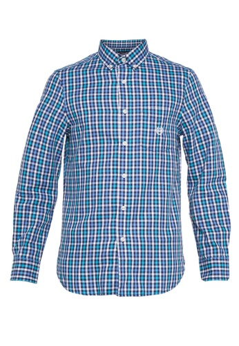 Chaps multi Chaps Checked Twill Sport Shirt  BADAAAA558EEB6GS_1