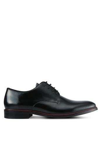 Dune London black Smart Lace Up Shoes DU588SH0SD8WMY_1