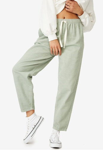 Cotton On green Everyday Pants 6FE5EAAAAB8D47GS_1