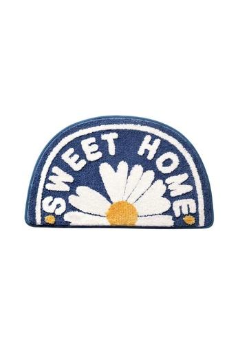 DILAS HOME Sweet Home Daisy Doormat BB6CDHL5A82F19GS_1