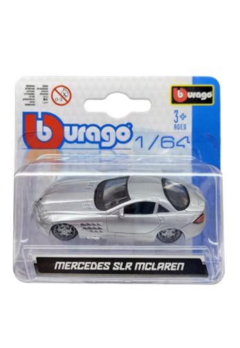 bburago silver Bburago 1.64 Asst - Mercedes SLR McLaren Silver 4CCBCTH3BE281FGS_1