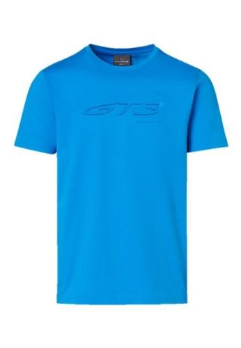 Porsche Driver's Selection blue Blue Men's T-Shirt Porsche GT3 Men Shirt Tee Shark Blue 718BDAA7F868EEGS_1