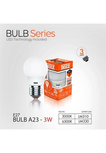 Holz HOLZ Lampu LED Bulb 3 Watt Kuning AC9A9ESF734A18GS_1