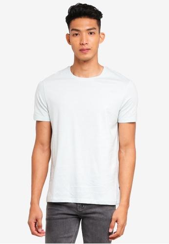 Burton Menswear London green Light Green Crew Neck T-Shirt 6DFCBAA0555204GS_1