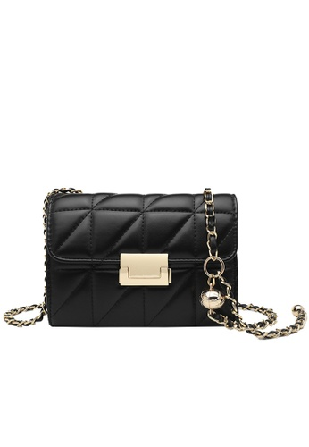 Halo black Two Way Mini Crossbody Bag 46479AC4443C07GS_1