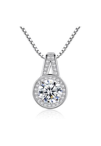 SUNRAIS silver Premium Silver S925 Silver Fashion Necklace 20050AC7589136GS_1
