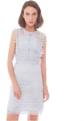 2829318da39 Buy JOVET Sleeveless Lace Dress Online on ZALORA Singapore