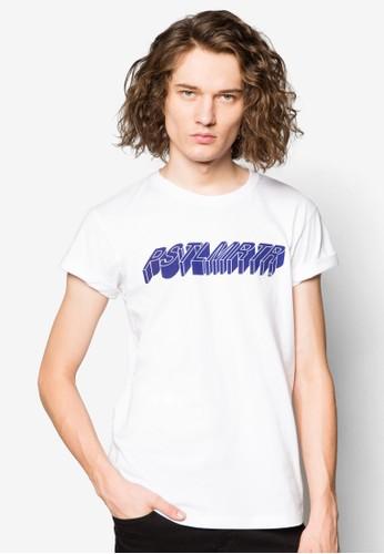 3D 字母設計TEE, 服飾,esprit tw T恤