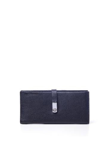 Dazz black Calf Leather Kara Magnetic Wallet - Black DA408AC55VGAMY_1