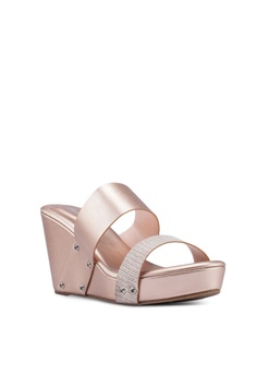 ff21e57082 Bata Glitzy Metallic Wedges RM 89.99. Sizes 36 37 38 39