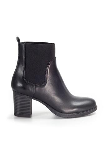 Shu Talk black Amaztep Classy Mid Calf Leather Boots 7E923SHC4578B7GS_1