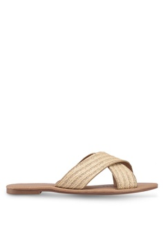 521c0ab35718 Rubi beige Everyday Scarlett Crossover Slides D54DASH1971B2DGS 1 Rubi  Everyday Scarlett Crossover Slides RM 59.00. Available in several sizes
