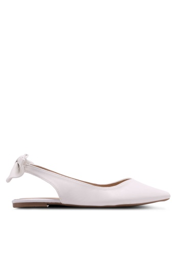Dorothy Perkins white White Pearl Sweetheart Pumps 00C94SHADF6733GS_1