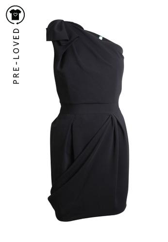 Just Cavalli black Pre-Loved just cavalli One Shoulder Dress D8DDDAAB5B459AGS_1