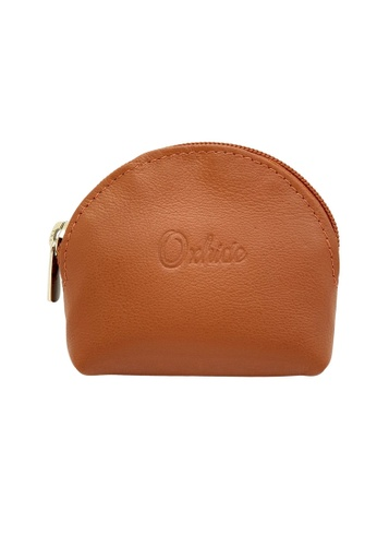 Oxhide brown Oxhide Leather Coin Purse Tan Small A96BBACD2CC582GS_1
