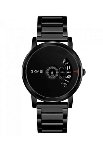 Fashion by Latest Gadget black Skmei 1260 Clean Face Stainless Watch – Black 61B30ACB443E39GS_1