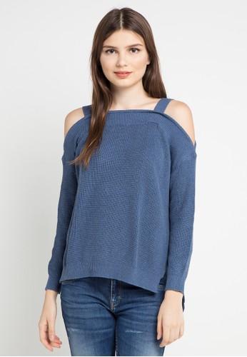 Miyoshi Jeans blue Fashion Blouse 013 CB67DAA0E1B48EGS_1