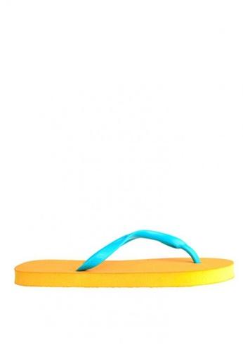 BENCH orange Rubber Slippers BE550SH0KGPKPH_1