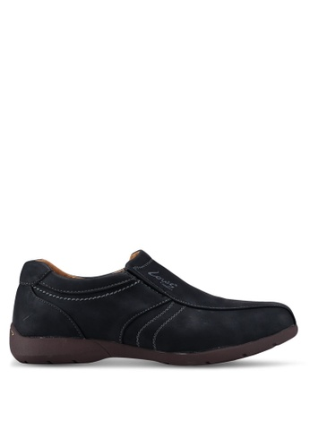 Louis Cuppers black Slip On Casual Shoes EA792SH52CB22FGS_1