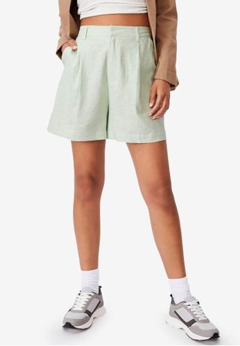 Cotton On green Ultimate Smart Shorts 3B8C9AACF6CBE1GS_1