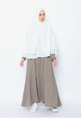 Allev green Omaira Dress - Cast Iron 5759AAA8B787FAGS_1