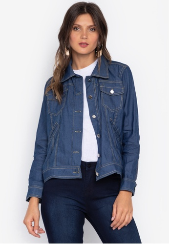 Courier blue Denim Jacket 6B215AA108D012GS_1