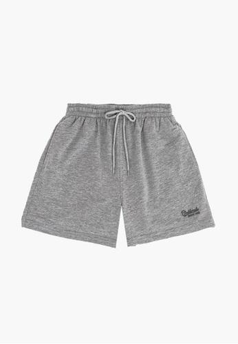 """FOREST grey Forest Cotton Terry Casual Short Pants (15"""") - Seluar Pendek Lelaki - 660000 - 21MelGrey 9DD5BAA422EECBGS_1"""