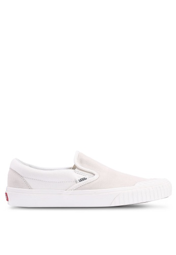 VANS white 138 Rugged Sidewall Slip-Ons 4FB11SHCB4DBBEGS_1