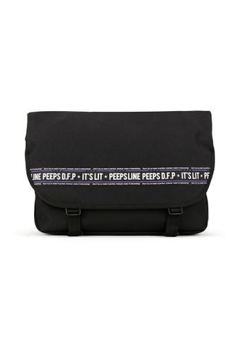 Peeps black Essential Messenger Bag P Line 850F6AC8E672BEGS_1