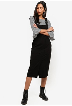 ca40fe408c13 Hopeshow Suspender Long Skirt RM 179.00. Sizes S M L