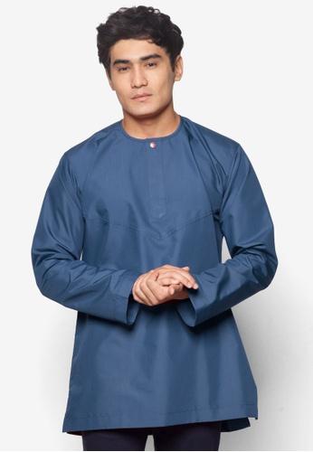 Amar Amran blue Kurta Al Amin AM362AA42JEJMY_1