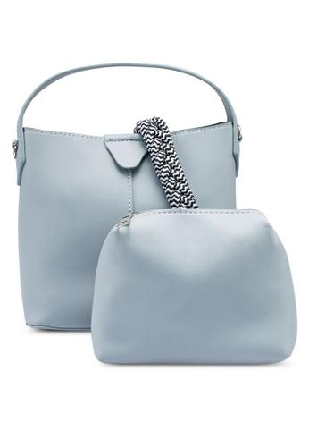 NATALIE & PEPPER blue Anne Top Handle Bag 0251EAC0C9EB43GS_1