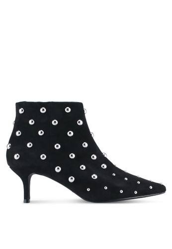 Dorothy Perkins black Black Asha Kitten Boots DO816SH0ST0PMY_1