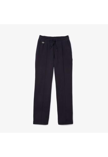 Lacoste blue Women's Lightweight Cotton Fleece Tracksuit Pants C73F5AAD19FDE6GS_1