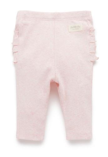 Purebaby pink Everyday Ruffle Leggings 836A3KA9F3496EGS_1