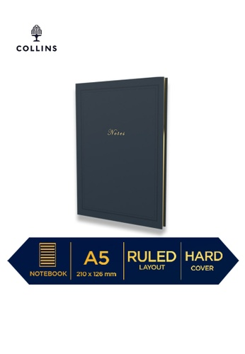 Collins navy Collins Kenrich ─ 2021 Calendar Year Diary ─ Navy ─ A5 Week to View 42D00HL645AA67GS_1